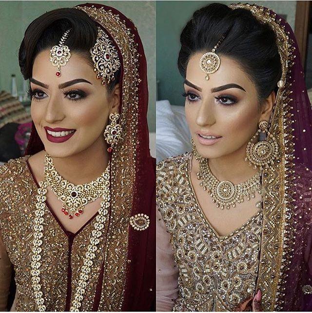 2 dramatically different looks by the lovely @makeupbyhumera. Which do you like better? . . . #bridal #bride #desibride #indianbride #pakistanibride #pakistan #indian #muslimwedding #desifashion #desi #desibridal #wedding #weddinginspiration #dulhan #shaadi #indianwedding #desiwedding #weddingdiaries #weddingphotography #pakistanifashion #desicouture #pakistani #indianfashion #lengha #asianbride #asianbridal #asianbrides #mehndi #mehndinight