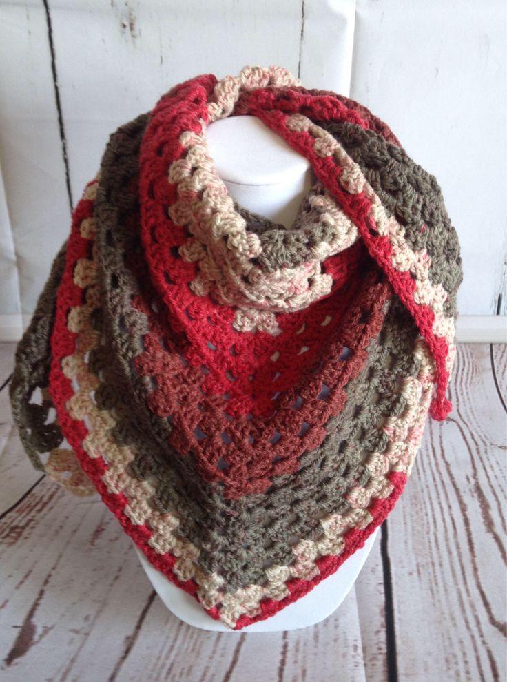 Summer Scarf - Triangle Scarf - Spring Scarf - Summer Shawl - Red Scarf - Fall Scarf - Shawl - Crochet Shawl - Crochet Scarf - Crochet Wrap by StephsFamilyStitches on Etsy https://www.etsy.com/ca/listing/519405051/summer-scarf-triangle-scarf-spring-scarf