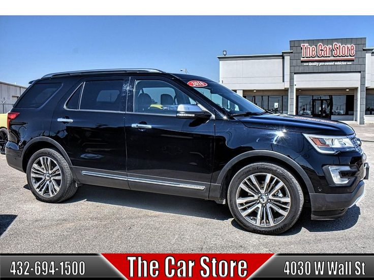 2016 #Ford Explorer 4WD 4dr Platinum #TheCarStore #Midland #Texas #AutoSales #Dealership #PreOwned #UsedVehicles