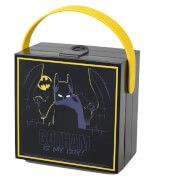 Lego Batman Lunch Box with Handle - Black The LEGO Batman Lunch Box with handle is the perfect gift for anyone who is a fan of LEGO™s Batman. The black and yellow box features lively images of the Dark Knight, has a soft silicone yellow carry http://www.MightGet.com/march-2017-1/lego-batman-lunch-box-with-handle--black.asp