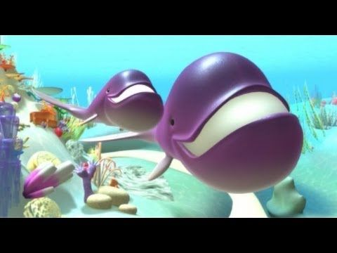 ▶ The whale, learn sea animals with children - Educational video cartoons for toddlers and babies - YouTube