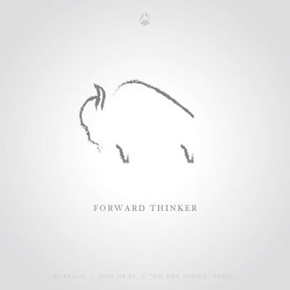 Forward Thinker - The Buffalo Art Print