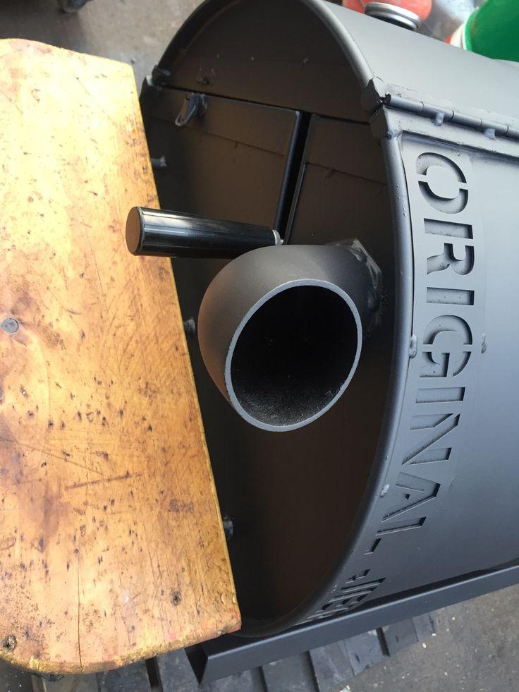 Custom built oil drum bbq with rotisserie www.originaljerk.co.uk Original Jerk oil drum BBQS     &nbs…