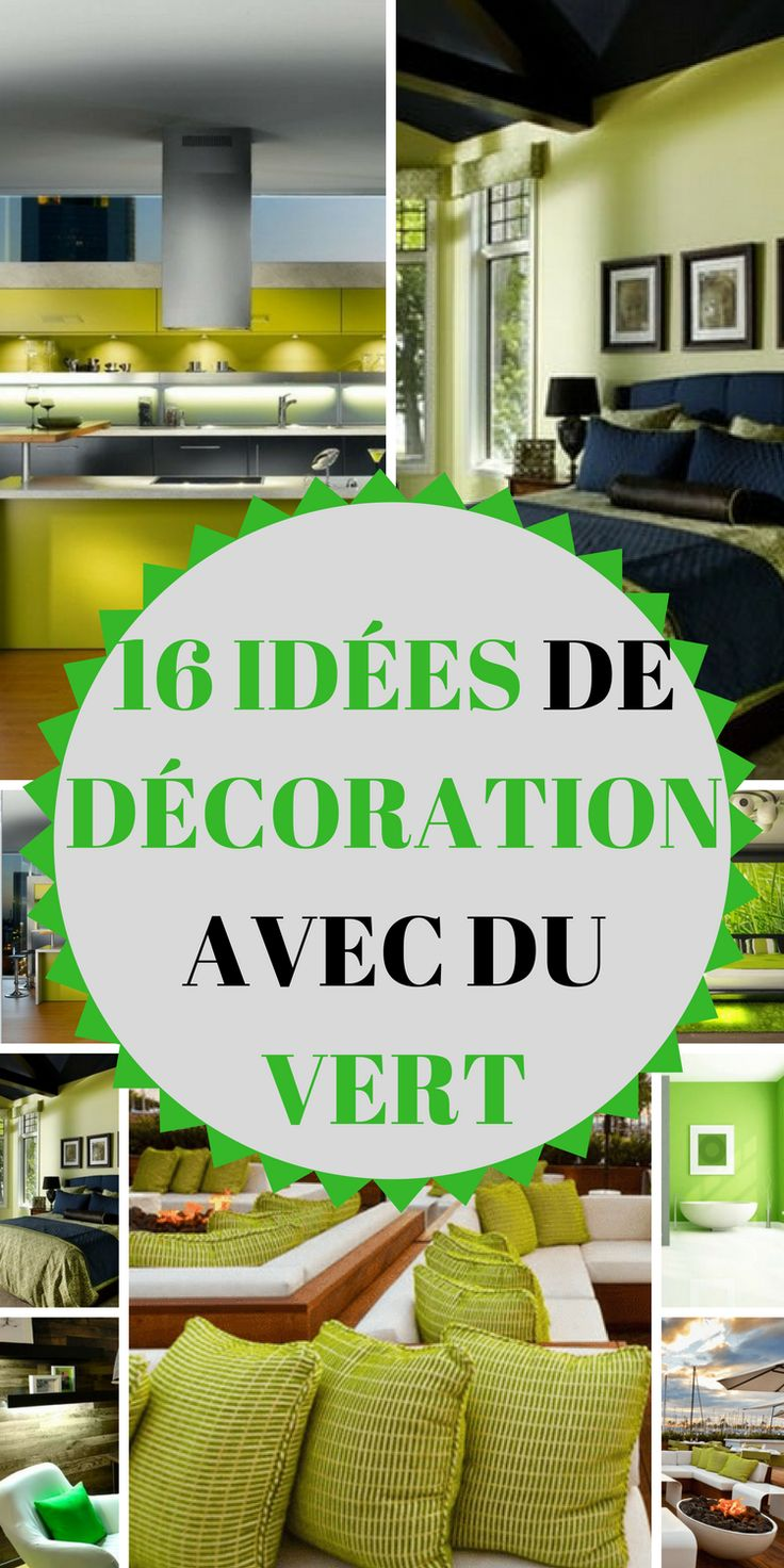 Quelques id es pour d corer sa maison avec du vert d coration d coration maison maison et - Decorer sa maison minecraft ...