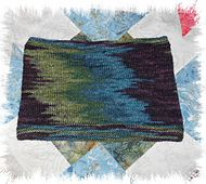 Colour pooling is used to achieve the vertical blocks of colour.