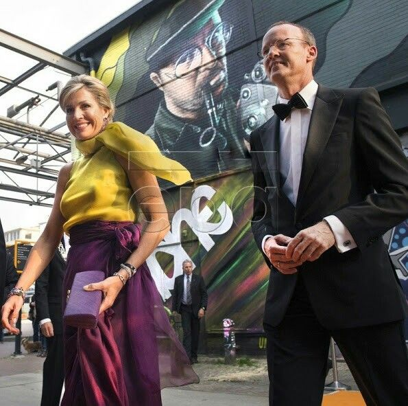 """On May 26, 2016, Queen Maxima of The Netherlands attends the awarding of the """"King Willem I Awards 2016"""" in Eindhoven, The Netherlands. The King Willem I Award is a Dutch national business award that the King Willem I Foundation presents every two years. The aim of the King Willem I Foundation in bestowing the award on businesses is to raise awareness and generate interest for positive developments in the Dutch economy, and to promote creative and innovative entrepreneurship."""