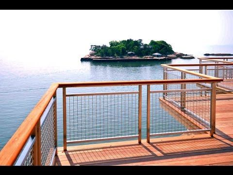 Wire Deck Railing # Coated Wire Deck Railing  # Cheap Wire Deck Railing