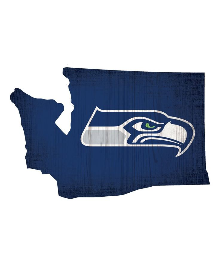 Take a look at this Seattle Seahawks Logo State Sign today!