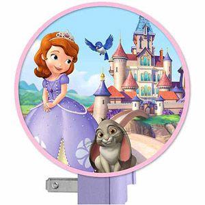 Disney Sofia The First Nightlight, Purple