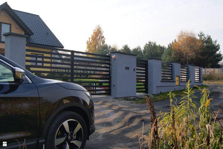 Domy styl Nowoczesny - zdjęcie od Wymarzone ogrodzenie - Domy - Styl Nowoczesny - Wymarzone ogrodzenie