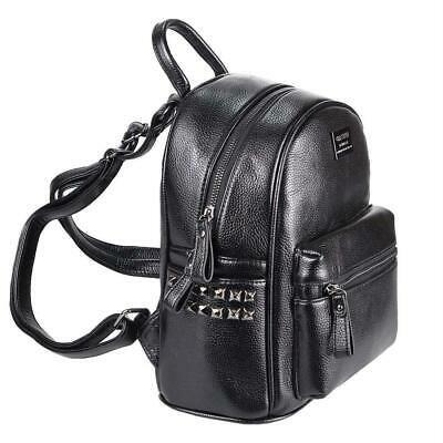 DAMEN NIETEN RUCKSACK Schulter-Tasche Daypack Cityrucksack BackPack Leder Optik:… – Italyshop24.com