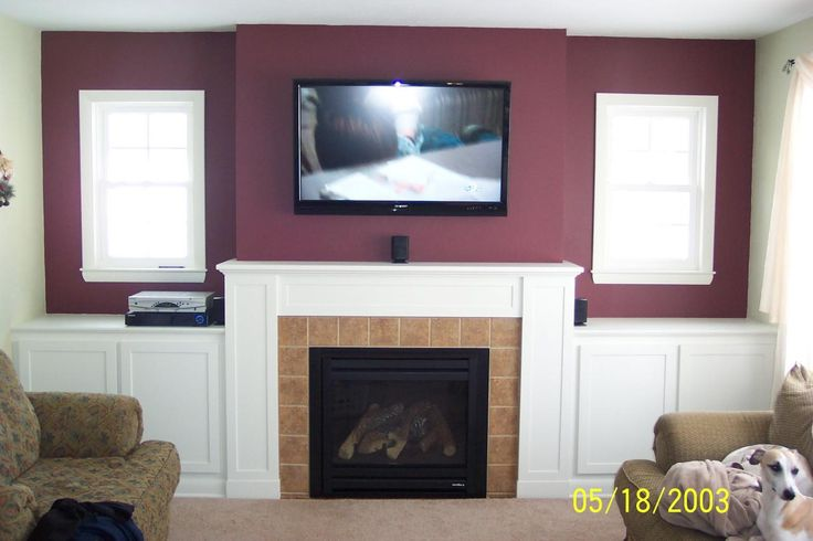 Wiring Tv Above Gas Fireplace