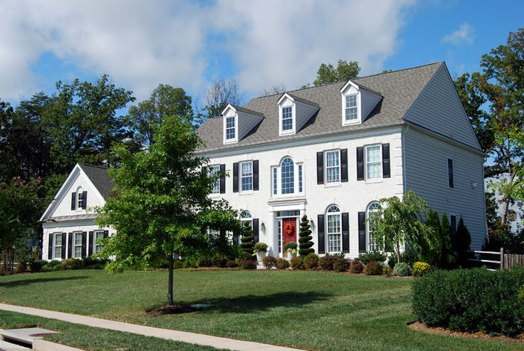 landscaping ideas for colonial style house - Google Search