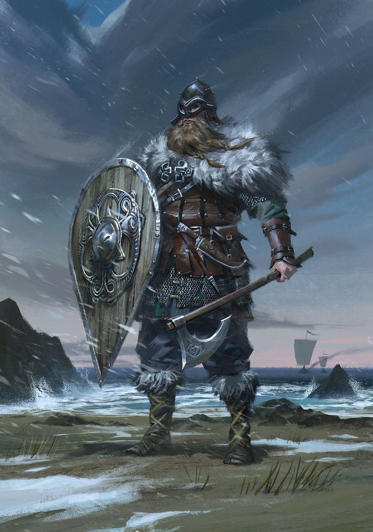 Viking, B S on ArtStation at https://www.artstation.com/artwork/odqEW