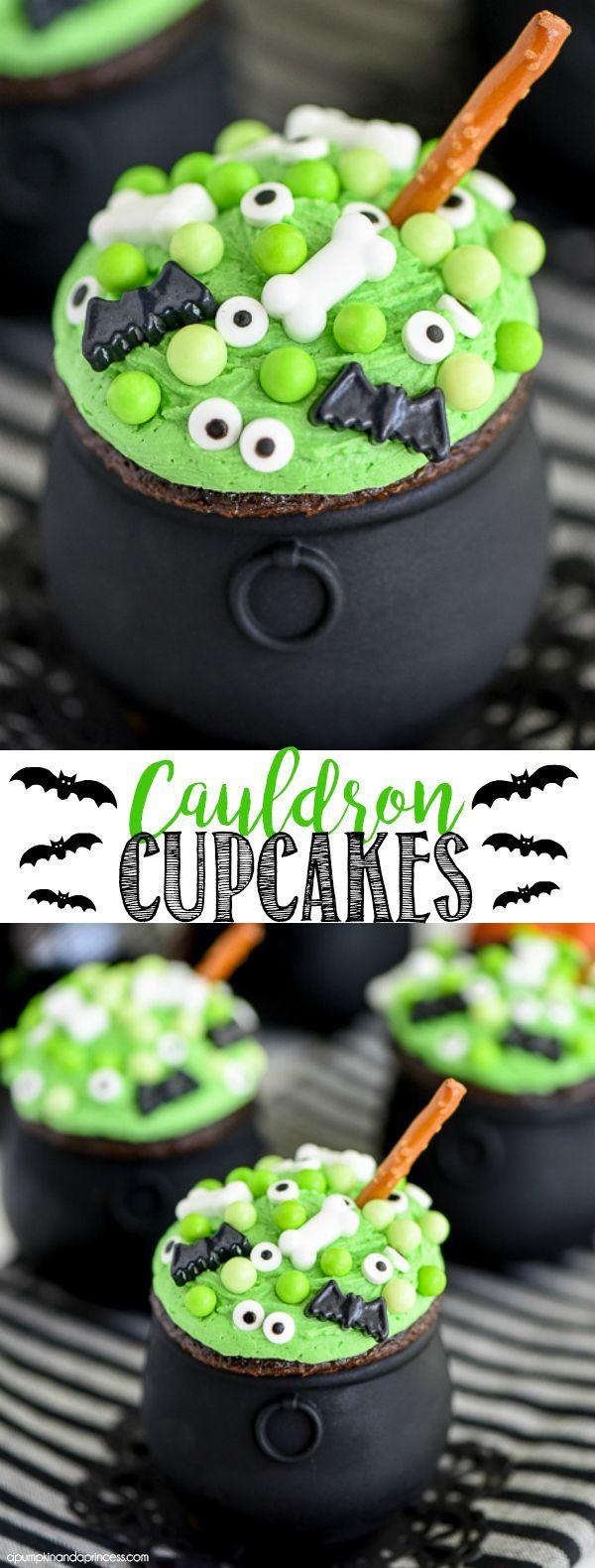 Cauldron Cupcakes                                                                                                                                                                                 More
