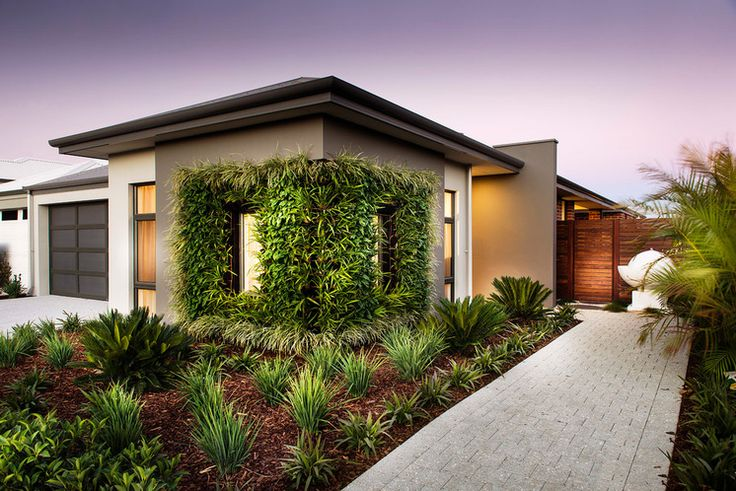 Contemporary Landscape by Dale Alcock Homes