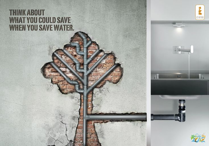 Think about what you could save when you save water – World water day « Creative Advertisements for NGO