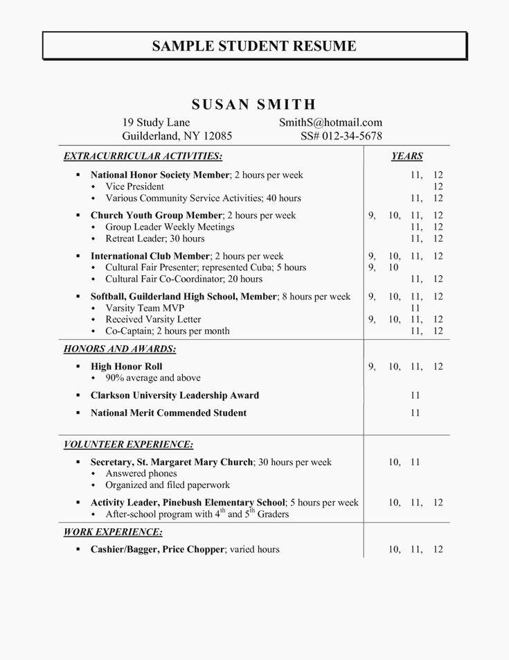 Activities resume template inspirational activities for