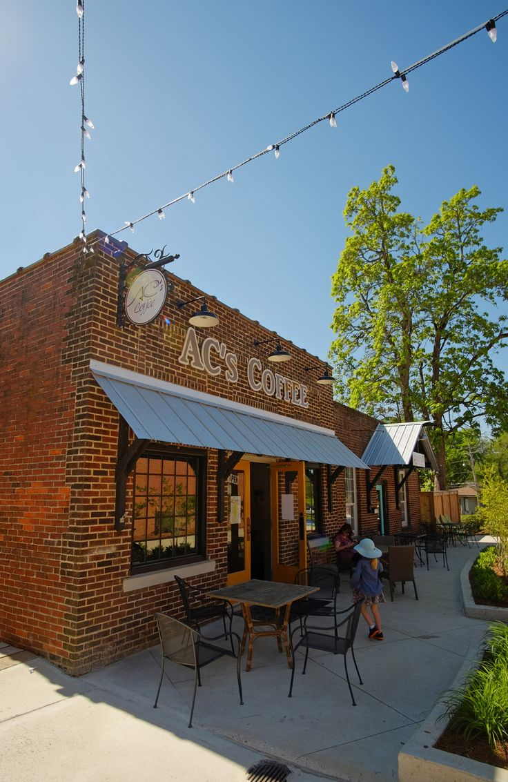 Coffee shop right off the Tanglefoot Trail in New Albany, MS.