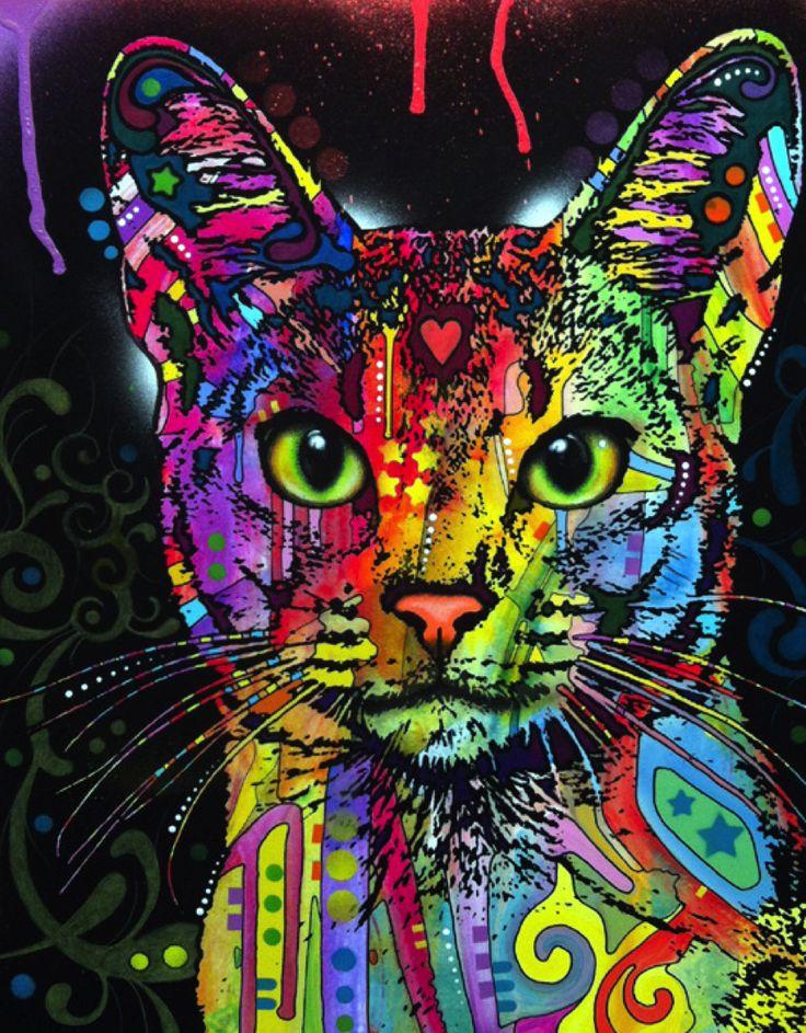 A Confident Cat by Dean Russo - abyssinian.jpg 912×1,169 pixels