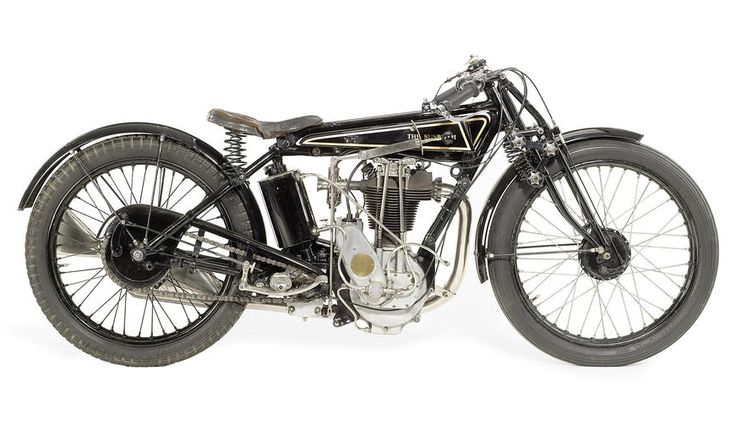 1925 Sunbeam Model 10 Sprint 500cc Motorcycle. Sunbeam Motorcycles (1912-1956). Wolverhampton, England.