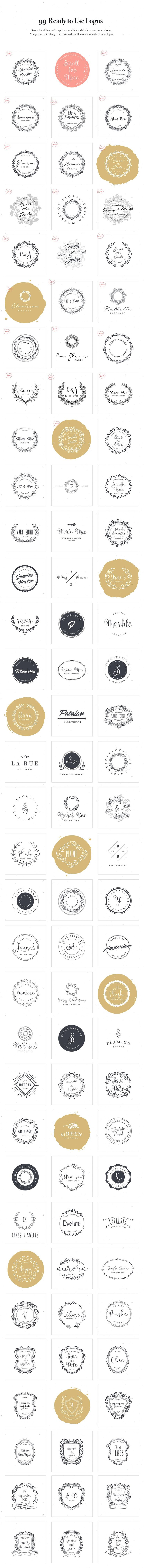 Logo Design Kit • Available here → https://creativemarket.com/VladCristea/573841-Logo-Design-Kit?u=pxcr