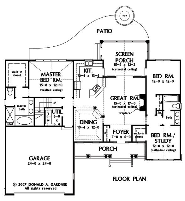 17 best images about small home plans on pinterest house for 2500 sq ft house plans with walkout basement