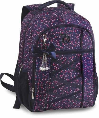 mochila de varias cores escuras da capricho