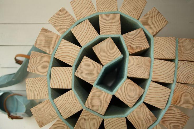 Bovenaanzicht kruk Taboeretka van Kuiken Design