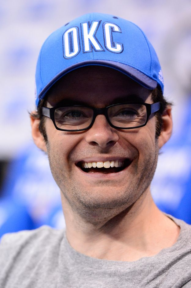 Bill Hader. I seriously love him. So funny!