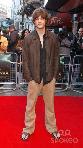 Jared Padalecki House of Wax Uk Film Premiere at Vue Cinema in Leicester Square London 5-24-2005 Photo By:jeff Spicer-alpha-Globe Photos, Inc 2005