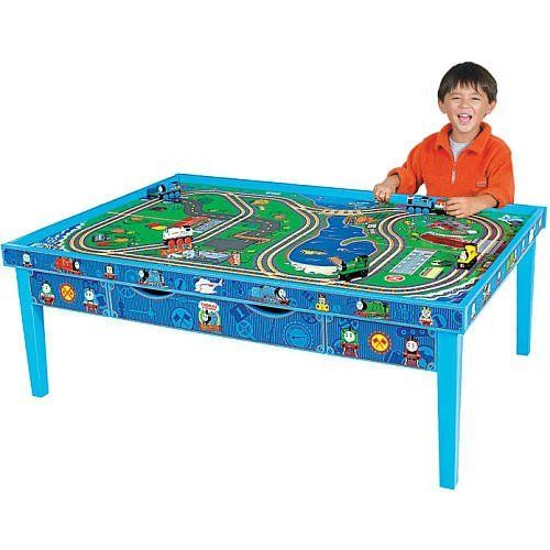 Learning Curve Thomas and Friends Wooden Railway Grow-With-Me Play Table. Read more at http://www.toys-zone.com/learning-curve-thomas-and-friends-wooden-railway-grow-with-me-play-table/