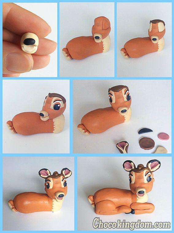 Disney Bambi Cake Topper Tutorial Part 2