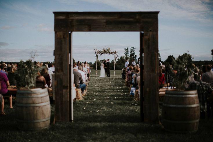 Kenra & Wallace - Boho Meets Country Wedding