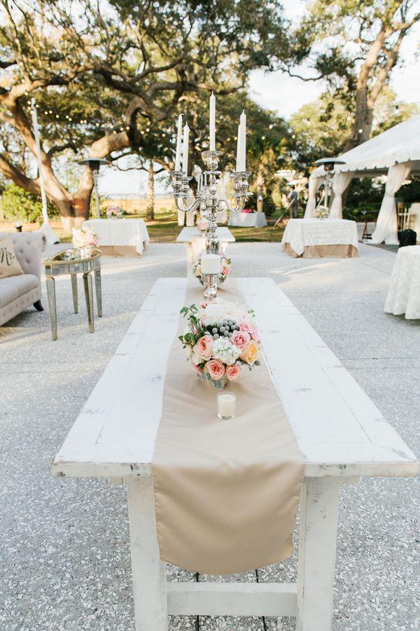 Lovely wedding tables  |  riverland studios