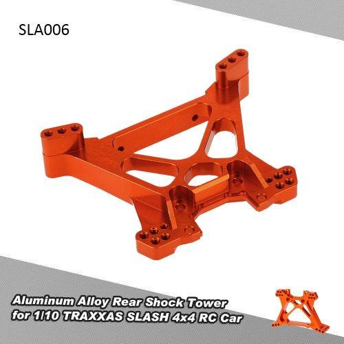 SLA006 Aluminum Alloy Rear Shock Tower for 1/10 TRAXXAS SLASH 4x4 RC Car