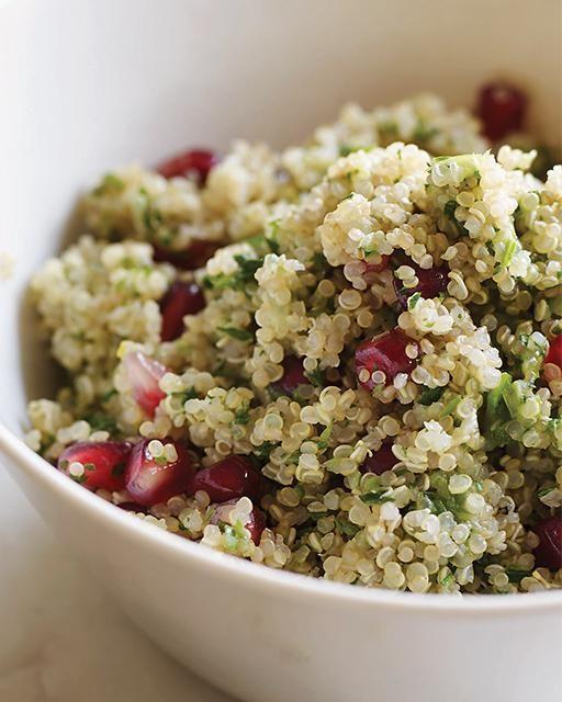 Pomegranate Quinoa Salad by Stephanie Burg - Sweet Paul presents My Happy Dish