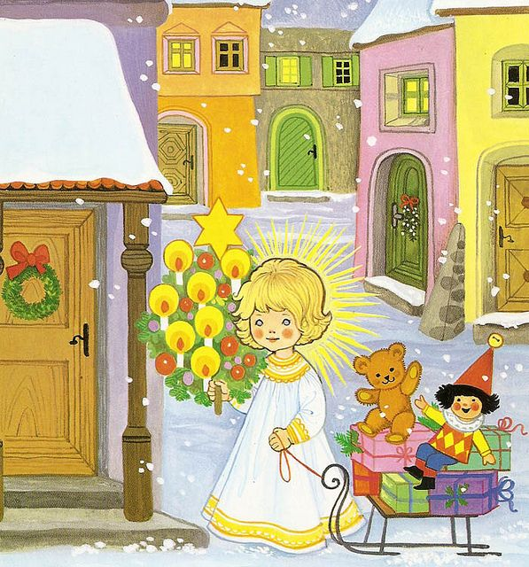 All sizes | 'The Beautiful and Wonderful Christmas Time' by Felicitas Kuhn [Pestalozzi Verlag] | Flickr - Photo Sharing!