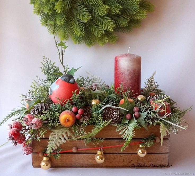 рождество новый год композиция фото люки