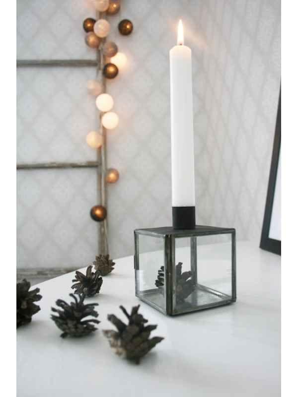 Ljusstake - Glasbox (Ib Laursen)