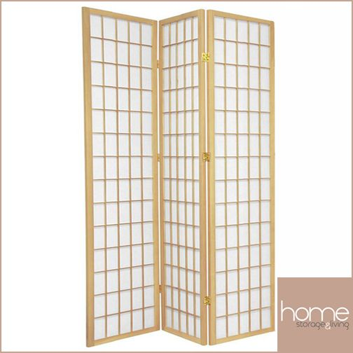 Natural Window Room Dividers - www.hsandl.com.au