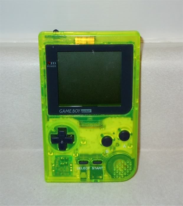 My prized possession  My atomic green Gameboy Pocket  I wish