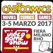 Dal 3 al 5 marzo torna Cartoomics! Scopri i dettagli e acquista il tuo biglietto!