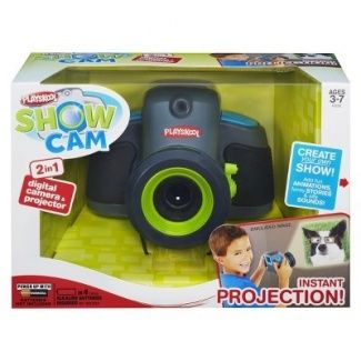 Playskool Showcam 2-in-1 Digital Camera and Projector - Boy