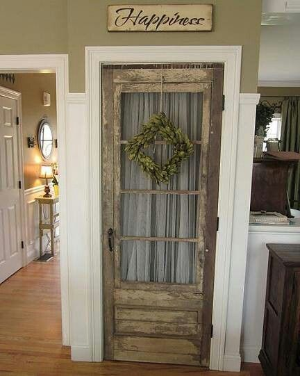 would make a great laundry room door great pantry door for a farm house kitchen designs new takes on old doors salvaged doors repurposed