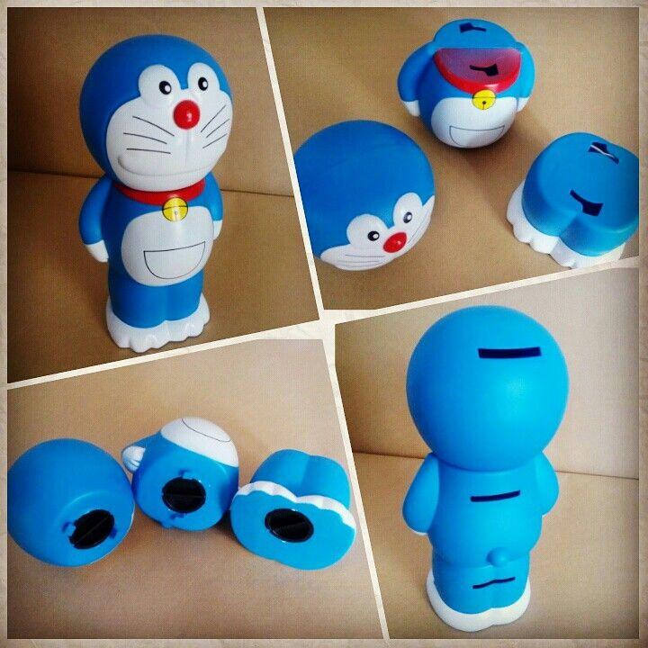 Celengan Doraemon tinggi 21cm bisa dipisah menjadi 3 bagian  harga Rp50.000  How to Buy: Ketik nama barang - nama lengkap - alamat lengkap - no hp  Kirim ke: BBM 5BB820D7 Line @rqa4794f  #celengandoraemon #tokodoraemon #doraemonbandung #pernakpernikdoraemonbandung #jualdoraemon