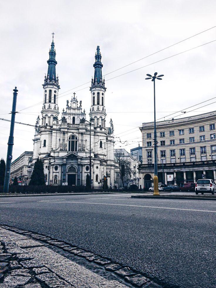 Warsaw, Warszawa, plac Zbawiciela