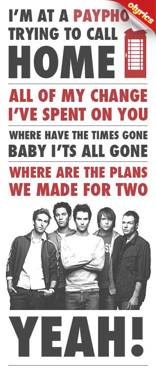 Payphone maroon 5 acoustic lyrics