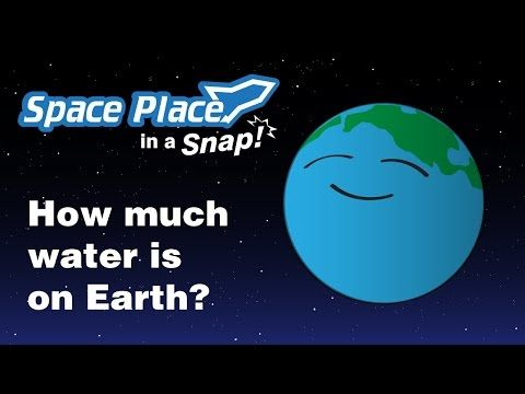 How much water is on Earth? :: NASA Space Place