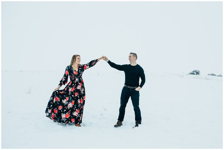 Winter Engagements || snowy engagements || Winter couple || What to Wear || Snow pictures